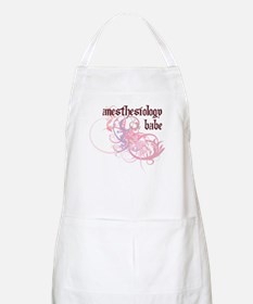 Anesthesiology Babe BBQ Apron
