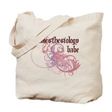 Anesthesiology Babe Tote Bag
