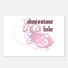 Admissions Babe Postcards (Package of 8)