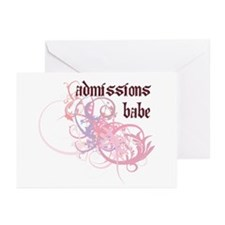Admissions Babe Greeting Cards (Pk of 20)