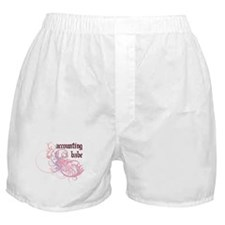 Accounting Babe Boxer Shorts