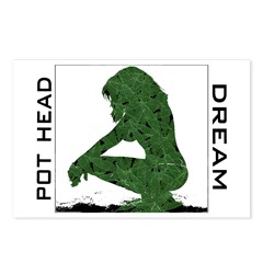 Pot Head Dream Postcards (Package of 8)