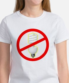 No PC Lightbulb Tee