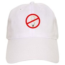 No PC Lightbulb Baseball Cap