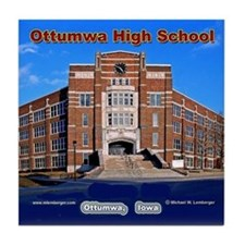 Ottumwa High School Tile Coaster