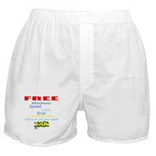 FREE CELEBRITIES Boxer Shorts