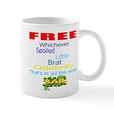 FREE CELEBRITIES Mug