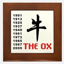 The Ox Framed Tile