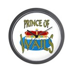 Baby Shower Prince Wall Clock