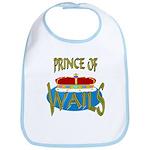Baby Shower Prince Bib