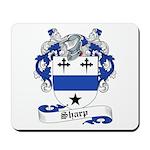 Sharp Family Crest Mousepad