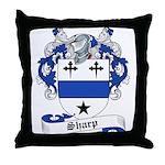 Sharp Family Crest Throw Pillow