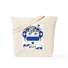 Sharp Family Crest Tote Bag