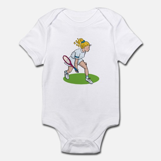 Tennis Girl Infant Bodysuit