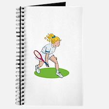 Tennis Girl Journal