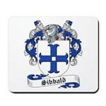 Sibbald Family Crest Mousepad