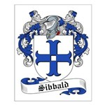 Sibbald Family Crest Small Poster