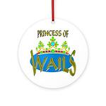 Baby Shower Princess Keepsake (Round)