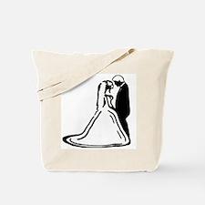 Bride & Groom Tote Bag