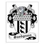 Snodgrass Family Crest Small Poster