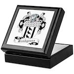 Snodgrass Family Crest Keepsake Box