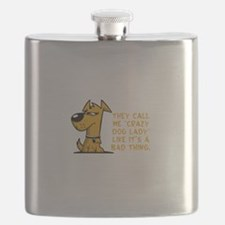 They call me crazy dog lady like it's a Flask
