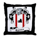 Spence Family Crest Throw Pillow