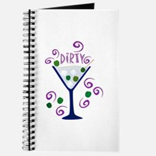 Dirty Martini Retro Journal