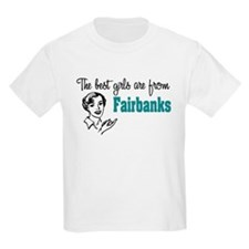 Best Girls Fairbanks Kids T-Shirt