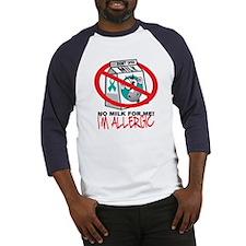 Milk Allergy 2 Baseball Jersey