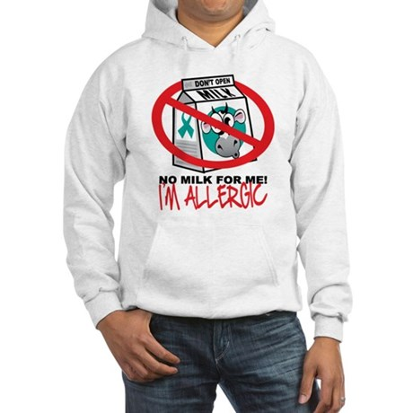 Milk Allergy 2 Hooded Sweatshirt