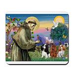 St Francis/Cavalier Trio Mousepad