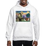St Francis/Cavalier Trio Hooded Sweatshirt