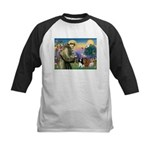 St Francis/Cavalier Trio Kids Baseball Jersey