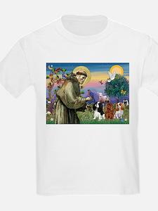 St Francis/Cavalier Trio T-Shirt