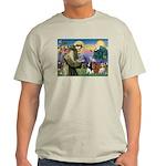 St Francis/Cavalier Trio Light T-Shirt