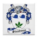 Steadman Family Crest Tile Coaster