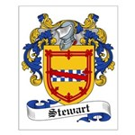 Stewart Family Crest Small Poster