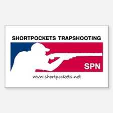 ShortPockets Trapshooting Rectangle Decal