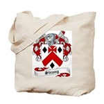 Strang Family Crest Tote Bag