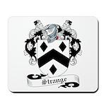 Strange Family Crest Mousepad