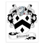 Strange Family Crest Small Poster