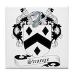 Strange Family Crest Tile Coaster