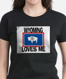Wyoming Loves Me Tee