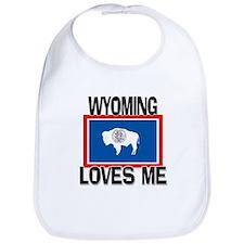 Wyoming Loves Me Bib