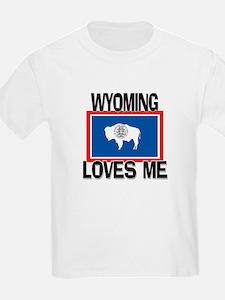 Wyoming Loves Me T-Shirt