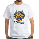 Strathy Family Crest White T-Shirt