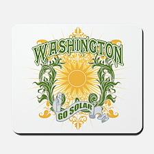 Go Solar Washington Mousepad