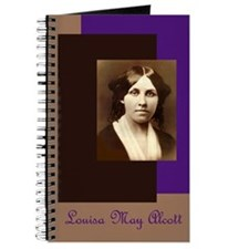 Portrait of Louisa May Alcott - Writer's Notebook