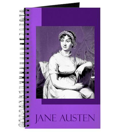 Portrait of Jane Austen - Writer's Notebook